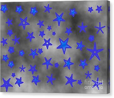 Jordan Canvas Print - Starry Clouds Forecast by Jeannie Atwater Jordan Allen