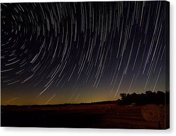 Starry Night Canvas Print by Dan Wells