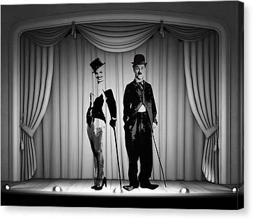 Stars On Stage Canvas Print by Steve K