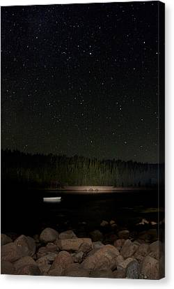 Stars Over Otter Cove Canvas Print by Brent L Ander