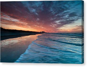 Starting Anew Canvas Print by At Lands End Photography