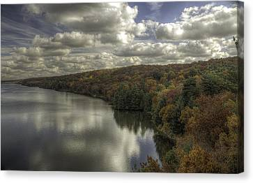 Starved Rock Fall Colors Canvas Print