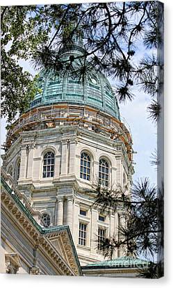 State Capitol Canvas Print by Billie-Jo Miller
