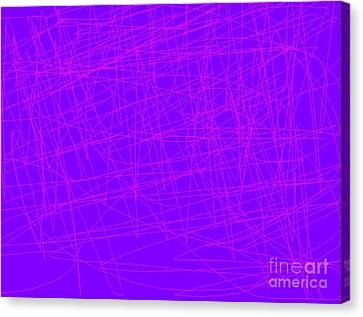 Jordan Canvas Print - Static Abstract by Jeannie Atwater Jordan Allen