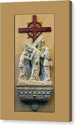Station Of The Cross 05 Canvas Print by Thomas Woolworth