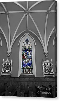 Stations Of The Cross Canvas Print by Susan Candelario