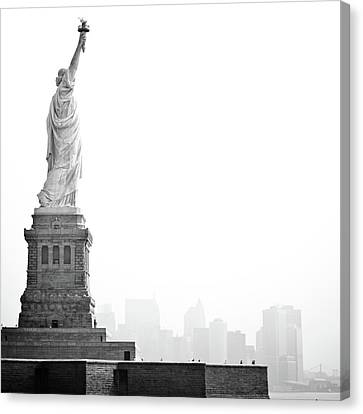 Statue Of Liberty Canvas Print by Image - Natasha Maiolo