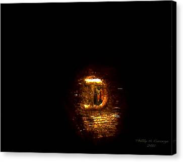 Statue Of Liberty Letter D Mint Mark Photo 8 Canvas Print by Phillip H George