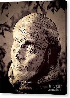 Statuesque  Canvas Print by Arne Hansen