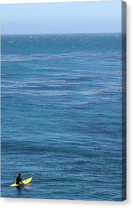 Steam Lane Surfer Canvas Print by Ty Helbach