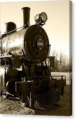 Steam Power Canvas Print by Ricky Barnard