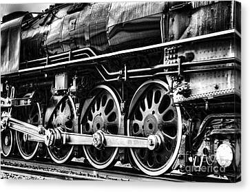 Steam Train No 844 - IIi Canvas Print by Donna Greene