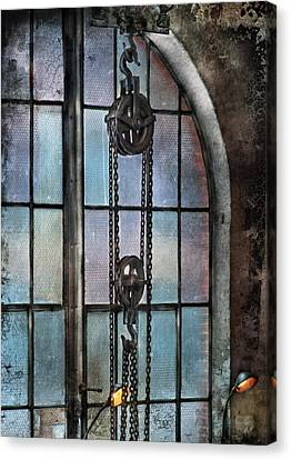 Steampunk - Gear - Importance Of Industry  Canvas Print by Mike Savad
