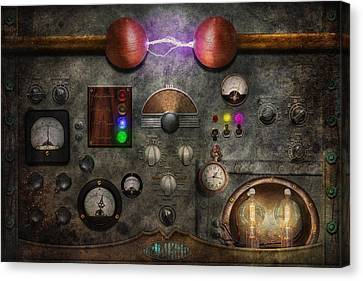 Steampunk - The Modulator Canvas Print by Mike Savad