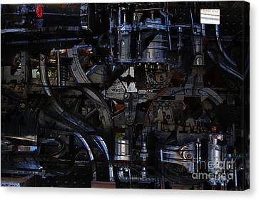 Steampunk Patent 1215 Prototype B Canvas Print by Wingsdomain Art and Photography