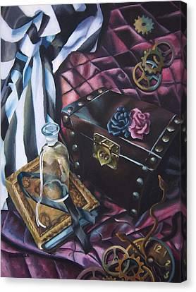 Steampunk Still Life Canvas Print