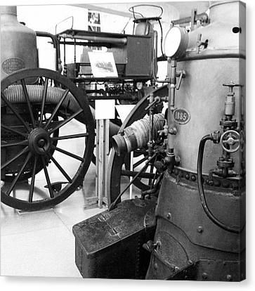 Steampunk Canvas Print - #steampunk #wheel by Anna Albrecht