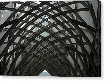Steel Canvas Print by Joseph Yarbrough