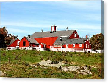 Steele Hill Farm Canvas Print