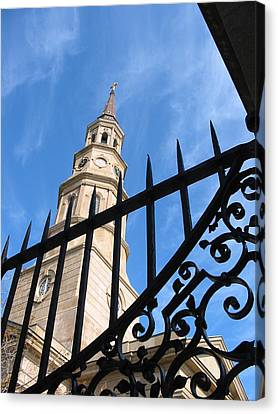 Steeples Canvas Print