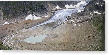 Stein Glacier, Switzerland Canvas Print by Dr Juerg Alean