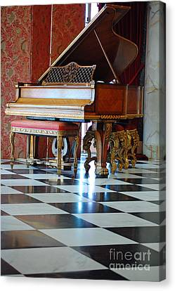 Steinway Canvas Print by Robert Meanor