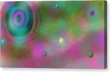 Stellar Evolution Canvas Print by Rosana Ortiz