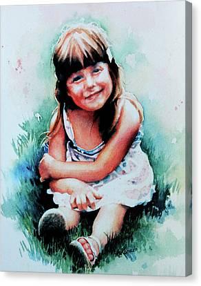 Stephanie Canvas Print by Hanne Lore Koehler
