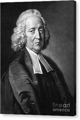 Stephen Hales, English Physiologist Canvas Print by Science Source