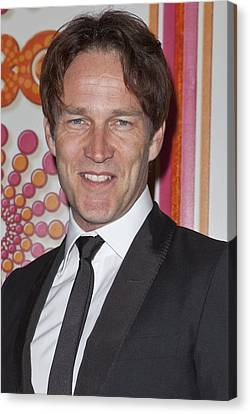 Stephen Moyer At Arrivals For Hbo Canvas Print