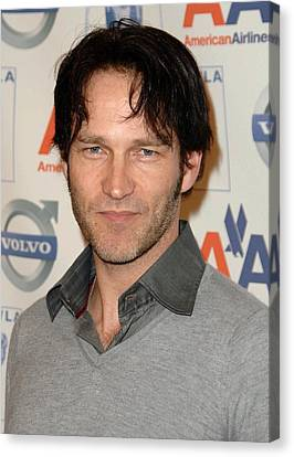 Stephen Moyer At Arrivals For The 2009 Canvas Print