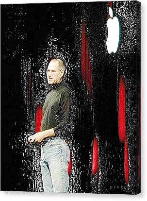 Steve Jobs 4 Canvas Print