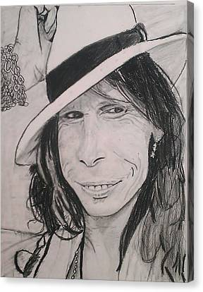 Steven Tyler Canvas Print by Brittany Frye