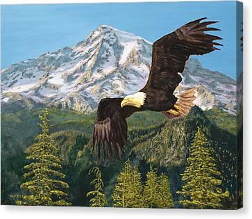 Still Flying High Canvas Print