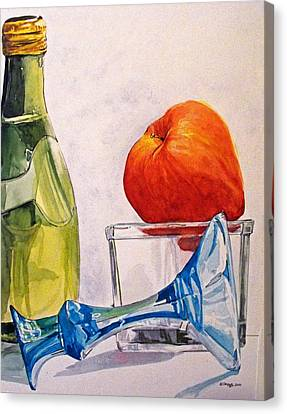 Still Life 2 Canvas Print by D K Betts