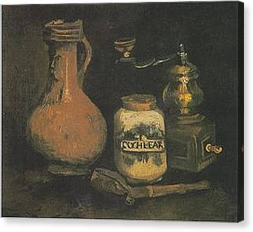 Still Life Paintings By Vincent Van Gogh Canvas Print by Van Gogh
