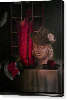 Still Life With Boots Canvas Print by Karin Eisermann