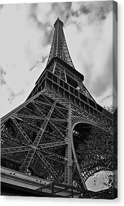 Canvas Print featuring the photograph Still Standing by Eric Tressler