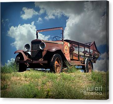 Still Truckin' Canvas Print
