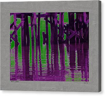 Still Water Canvas Print by Rene Crystal
