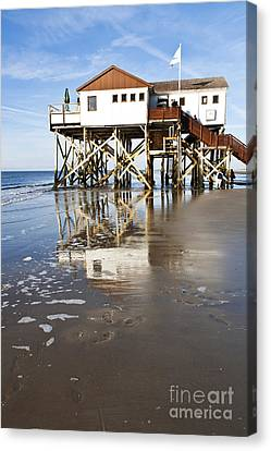 Stilt House Canvas Print
