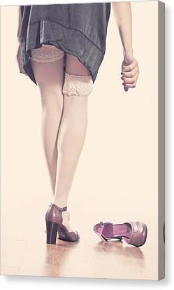 Stockings Canvas Print by Joana Kruse
