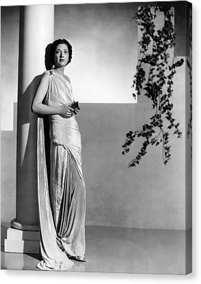 Stolen Holiday, Kay Francis, 1937 Canvas Print by Everett