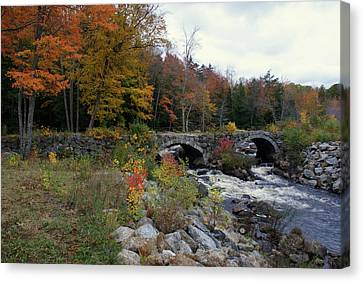 Stone Bridge Autumn 2011 Canvas Print