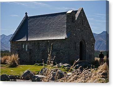 Stone Church Canvas Print by Graeme Knox