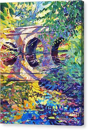 Stone Footbridge Canvas Print
