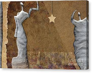 Stone Men 30-33 - Les Femmes Canvas Print by Variance Collections