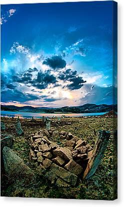 Stone Canvas Print by Okan YILMAZ