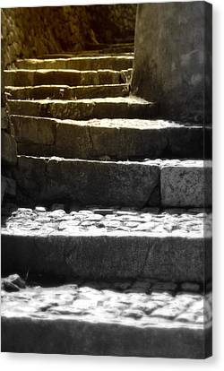 Stone Steps Canvas Print by Emanuel Tanjala