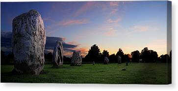 Canvas Print featuring the photograph Stonehenge's Older Brother  by John Chivers